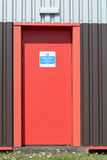 Fire escape door Royalty Free Stock Photography