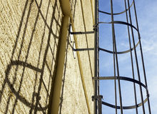 Fire escape Royalty Free Stock Image