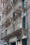 Fire escape ladder Stock Photography
