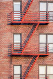 Fire Escape Ladder Royalty Free Stock Photos
