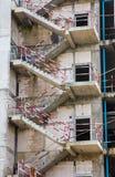 Fire escape ladder Stock Images