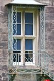 Fire escape at Muckross House, Killarney, Ireland. Fire escape Queen Victoria demanded before visiting Muckross House, County Kerry, Ireland - a Tudor style Stock Image