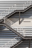 Fire escape. Royalty Free Stock Photos