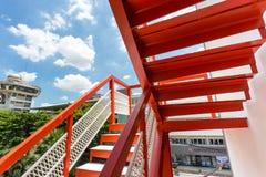 Fire escape Stock Photos