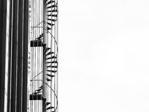 A Fire Escape Stairs Royalty Free Stock Image
