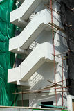 Fire escape under construction Stock Photography