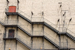 Fire escapes Stock Photos