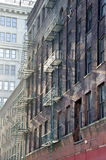 Fire Escapes Stock Image