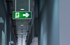 Fire Exit Royalty Free Stock Photos
