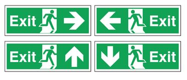 Fire Exit Stock Image