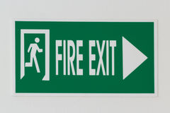 Fire exit Royalty Free Stock Image