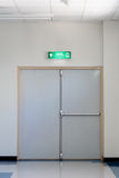 Fire exit door Royalty Free Stock Photo