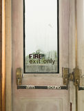 Fire Exit Door Royalty Free Stock Photography