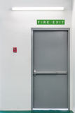 Fire exit door Stock Images