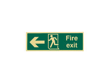 Fire Exit Sign Stock Photos