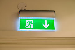 Fire exit Stock Photography