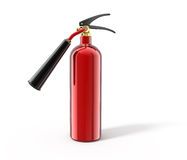Fire extinguisher. Isolated on white with clipping path - high resolution 3d render Royalty Free Stock Photo