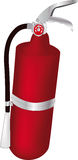 Fire extinguisher. сontainer control covering cylinder Royalty Free Stock Photos