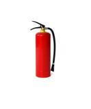 Fire extinguisher. Isolated on white background Stock Photos