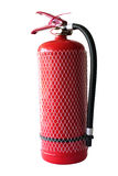 Fire extinguisher. Isolated on white royalty free stock photography