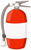 Fire extinguisher. Illustration  of isolated fire extinguisher on white background Royalty Free Stock Photography