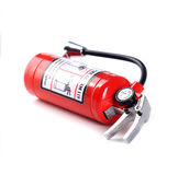 Fire extinguisher. Isolated on white background Royalty Free Stock Photography