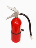 Fire extinguisher. Isolated fire extinguisher Stock Photos