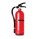 Fire extinguisher. Isolated on white background vector illustration