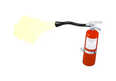 Fire extinguisher. Equippement for rescue and fire fighting Royalty Free Stock Image