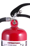 Fire Extinguisher. With meter and levers royalty free stock images