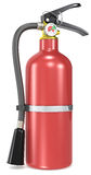 Fire Extinguisher. Classic red Fire Extinguisher Royalty Free Stock Image