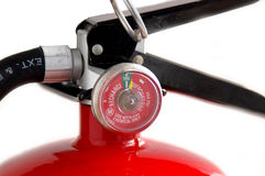 Fire extinguisher. Closeup royalty free stock images