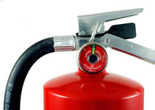 Fire extinguisher. With pressure in the green Stock Images