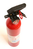 Fire extinguisher. On a white background Stock Image