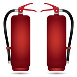 Fire extinguisher cabinet. Design Stock Photo