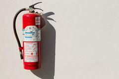 Fire extinguisher Royalty Free Stock Photography
