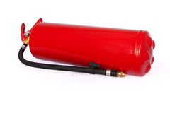 Fire extinguisher with clipping path Stock Image