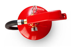 Fire extinguisher with clipping path Stock Photography