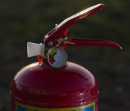 Fire extinguisher close up Royalty Free Stock Photo