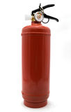 Fire extinguisher cylinder Stock Image