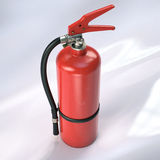 Fire extinguisher. 3d illustration Stock Images