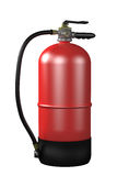 Fire extinguisher. Design in 3d of a fire extinguisher on a white background Royalty Free Stock Photos