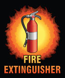 Fire Extinguisher Design Royalty Free Stock Image