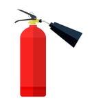 Fire extinguisher. Eps10  illustration.  on white background Stock Photo