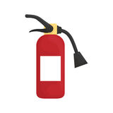Fire extinguisher equipment Royalty Free Stock Image