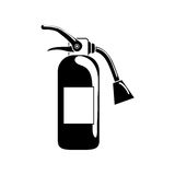 Fire extinguisher equipment. Icon  illustration graphic design Royalty Free Stock Photo