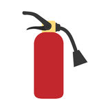 Fire extinguisher equipment Stock Photos