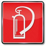 Fire extinguisher. And first aid Royalty Free Stock Image