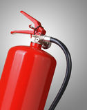 Fire extinguisher. On gray background Stock Photos