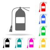 Fire extinguisher icon. Element firefighters multi colored icons for mobile concept and web apps. Icon for website design and deve. Lopment, app development Royalty Free Stock Photo